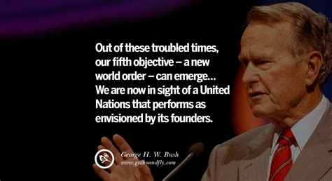 13 Famous George H.w. Bush Quotes On Freemason, Illuminati
