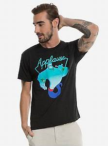 Disney Aladdin Genie Neon Applause T Shirt