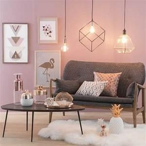 Rose Gold Wandfarbe : 29 gorgeous rose gold home decor design ideas loveable ~ Frokenaadalensverden.com Haus und Dekorationen