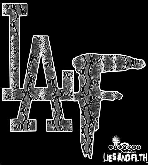 SNAKE SKIN LAF · LIES AND FILTH · Online Store Powered by ...