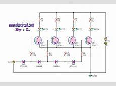 5 Led 12v battery level indicator Electrical Engineering