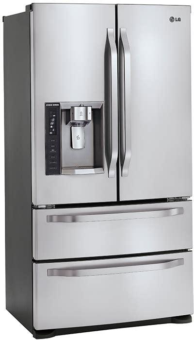 lg studio series refrigerator  double drawer freezer