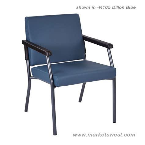 bariatric guest chair w titanium frame 300lb rating