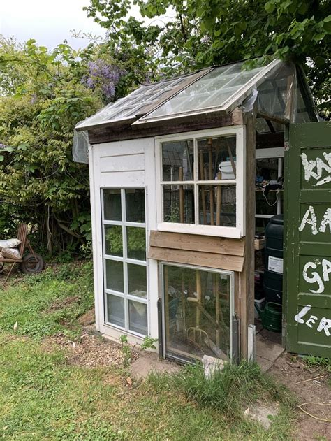 Many diy greenhouse plans use recycled material as well as natural elements of your home and backyard that help to enhance the building overall. A greenhouse we build two years ago from old windows and ...