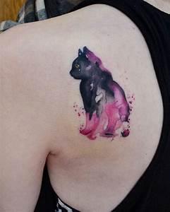 Tattoos Die Sich Ergänzen : das aquarell tattoo die sch nsten motive und wichtige tipps ~ Frokenaadalensverden.com Haus und Dekorationen
