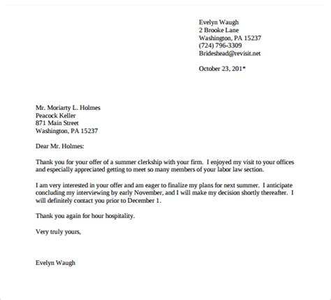 Exle Follow Up Email After Resume by 4 Thank You Emails After Thank You Letter After 10 Free For 7