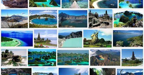 obyek wisata terkenal  indonesia  bahasa inggris