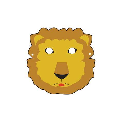masque de lion  imprimer   decouper magicmamancom