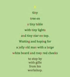 poem about a tiny christmas tree classroom ideas pinterest
