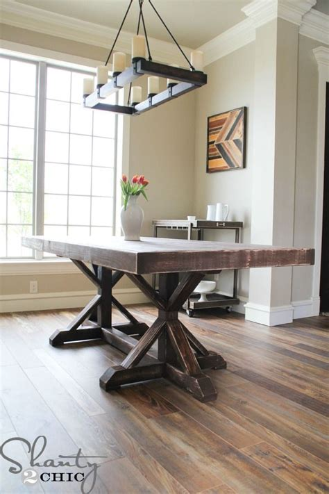 Free Country Kitchen Table Plans  Woodworking Projects