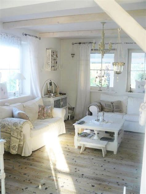 shabby chic decorating ideas living room beautiful flowers and shabby chic ideas for white living room decorating