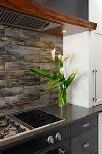 kitchen ceramic tile backsplash wood look tile ideas for every room in your house