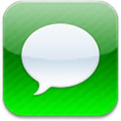 iphone texting app 16 iphone message app icon images iphone app icons