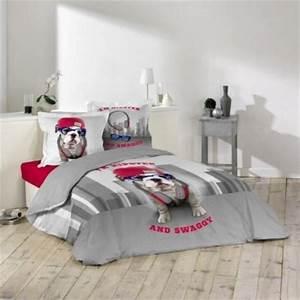 Housse de couette ado adolescent linge de lit housse for Chambre ado garçon avec housse de couette rouge 140x200