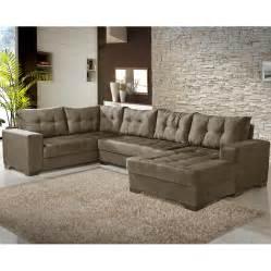 sofa de sofá de canto 5 lugares preços