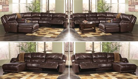 How To Arrange The Braxton  Java Sectional By Ashley