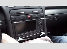 How to upgrade 20022008 Audi A4 Radio with dvd GPS touch