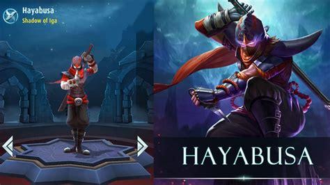 Quote Mobile Legend Hayabusa mobile legends hayabusa shadow of iga