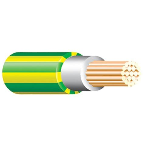 green and yellow tri cable