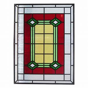 Bespoke 1930s Art Deco Stained Glass - From Period Home Style