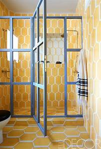 25 colorful bathrooms to inspire you this weekend With colorful tiles for bathroom