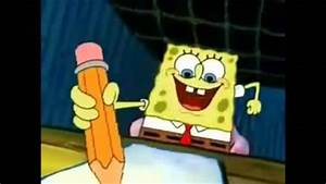 "Spongebob writes ""The"" - YouTube