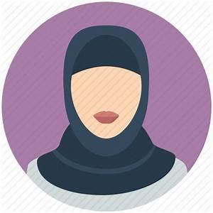 Arab, emarites, female, hijab, islamic, muslim, woman icon ...