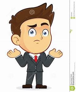Confused Businessman Gesturing Stock Image - Image: 35918301