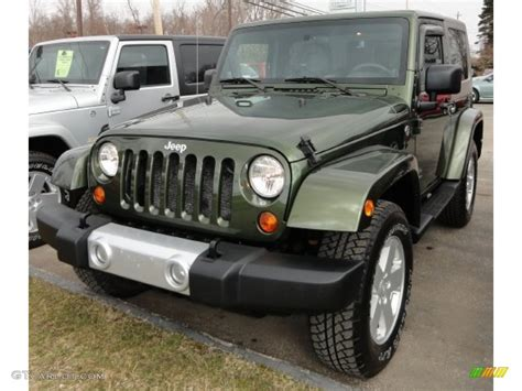 jeep metallic 2008 jeep green metallic jeep wrangler sahara 4x4