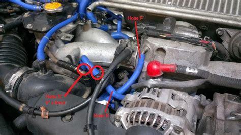 wrx vacuumcoolant hose install guide nasioc