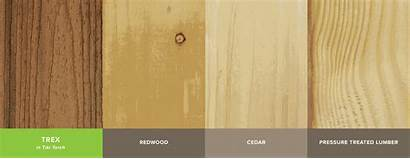 Decking Trex Wood Composite Timber Treated Cedar