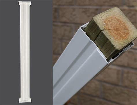 pvc column wraps exterior column covers post covers