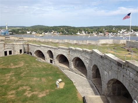 Fort knox is a u.s. Penobscot Narrows Observatory and Fort Knox State Park ...
