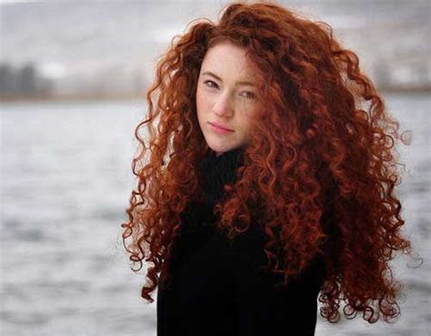 long red curly hair hairstyles  haircuts lovely