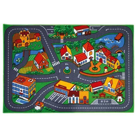 tapis de jeu pour petites voitures motor  king jouet