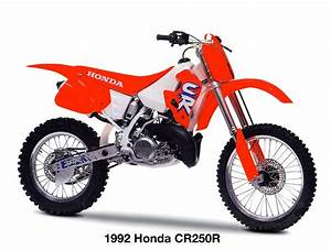 Honda 250 Cr : the latest edition of classic steel by yours truly on the 1992 honda cr250r is up for your ~ Dallasstarsshop.com Idées de Décoration