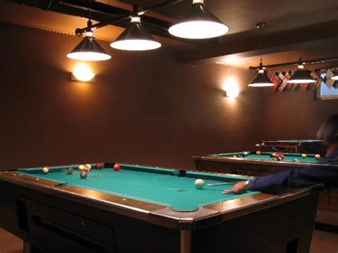 pool tables direct reviews the pool tables in the sports bar picture of hotel tulpe