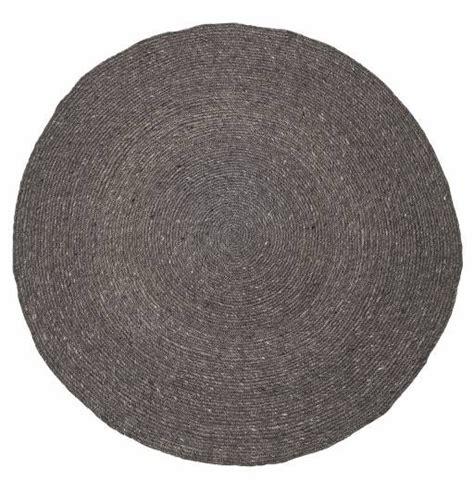 alfombra trenzada de sisal gris bonita alfombra trenzada en forma redonda y de color gris