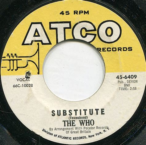 The Who - Substitute (1966, Vinyl) | Discogs