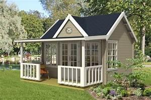 Gartenhaus 40 Qm : gartenhaus mit terrasse gr en und stile f r ihren garten ~ Frokenaadalensverden.com Haus und Dekorationen