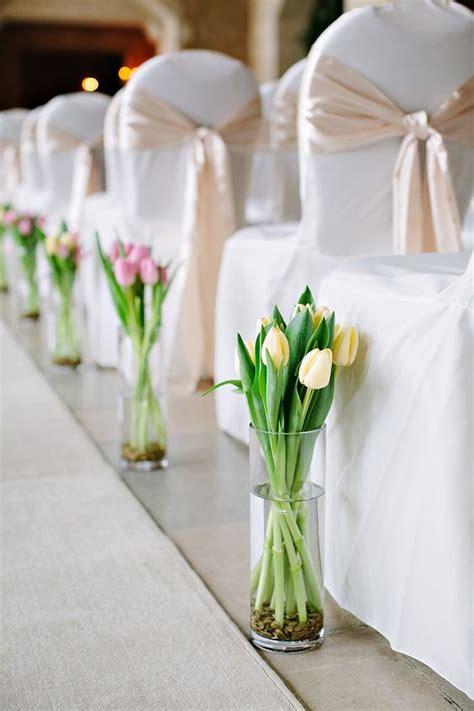 white tulip wedding ideas  spring weddings page