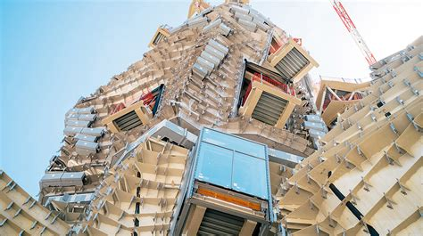a house plan frank gehry 39 s twisting mountainous skyscraper takes shape