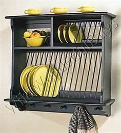french country wood wall mount plate rack trendy farmhouse kitchen plate racks
