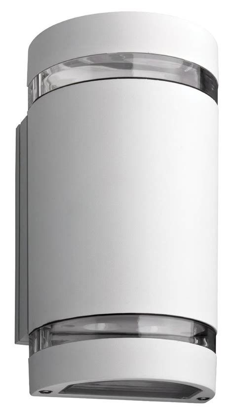 lithonia lighting ollwu wh m6 outdoor led wall cylinder 2