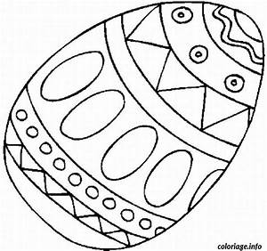 Oeuf Paques Dessin : coloriage oeuf de paques de poule dessin ~ Melissatoandfro.com Idées de Décoration