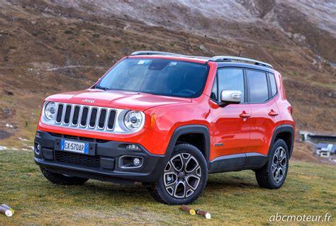 orange jeep renegade essai jeep renegade 2 0 multijet 140 4x4 bvm6 bva9