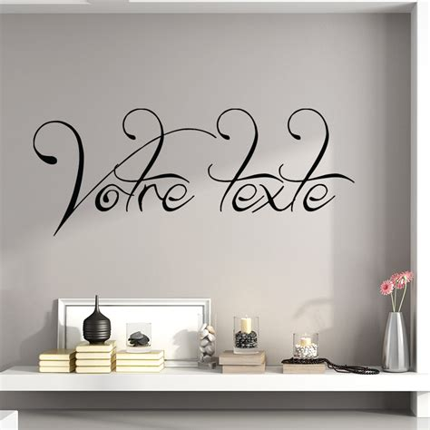 stickers muraux personnalise texte stickers muraux texte personnalise 28 images sticker texte personnalis 233 calligraphie