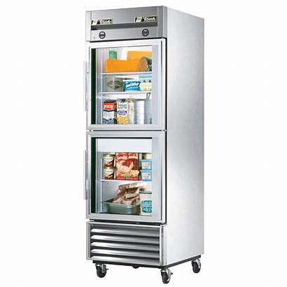 Freezer Refrigerator Glass Door Commercial True Combination