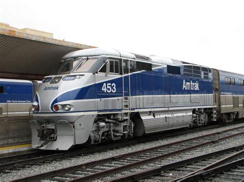 Locomotives > Diesel > Emd > F59phi > Amtrak > Amtk 453