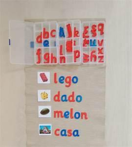 Cómo presentar el alfabeto móvil How to introduce the movable alphabet • Montessori en Casa